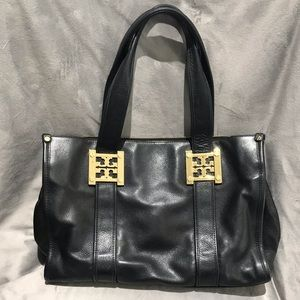 Tory Burch Leather Gareth East/West Tote